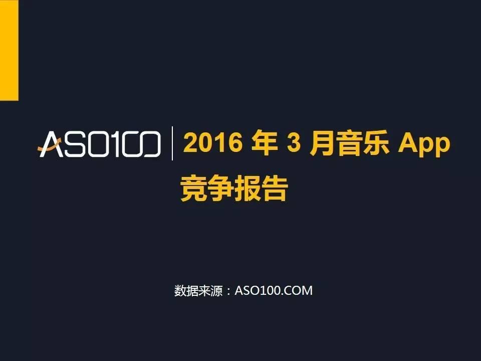 QQ音乐,ASO100,音乐App竞争报告